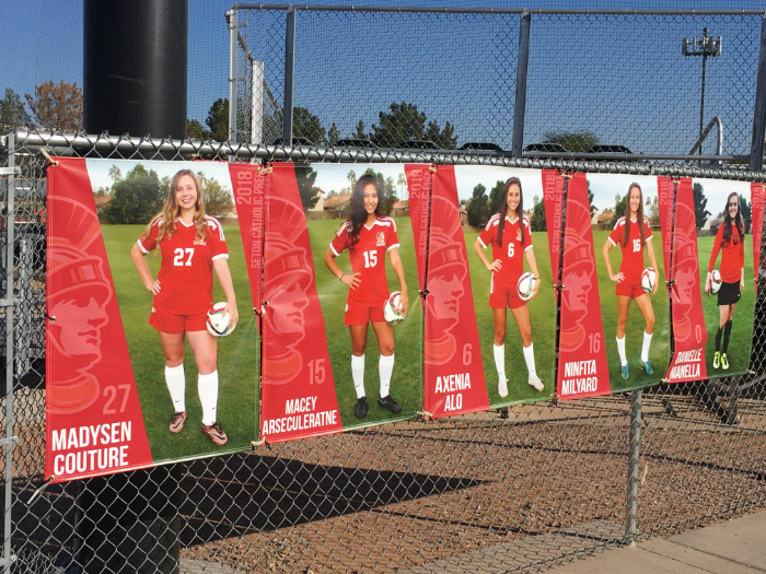 Senior Banners For Athletic And Spiritline Are Great Giveaways